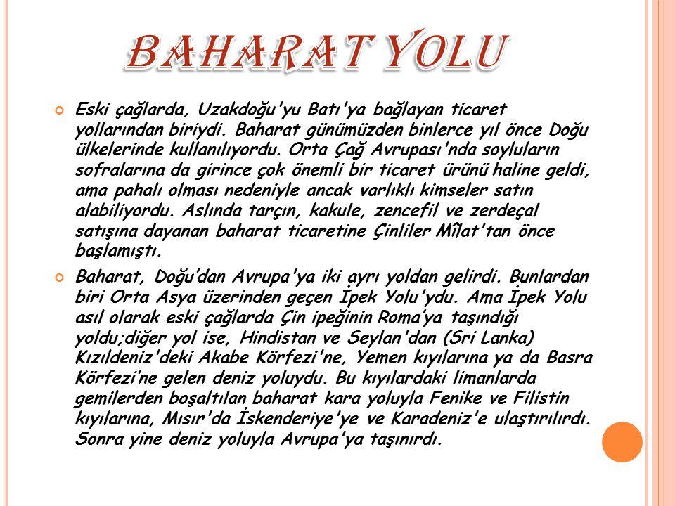 BAHARAT YOLU