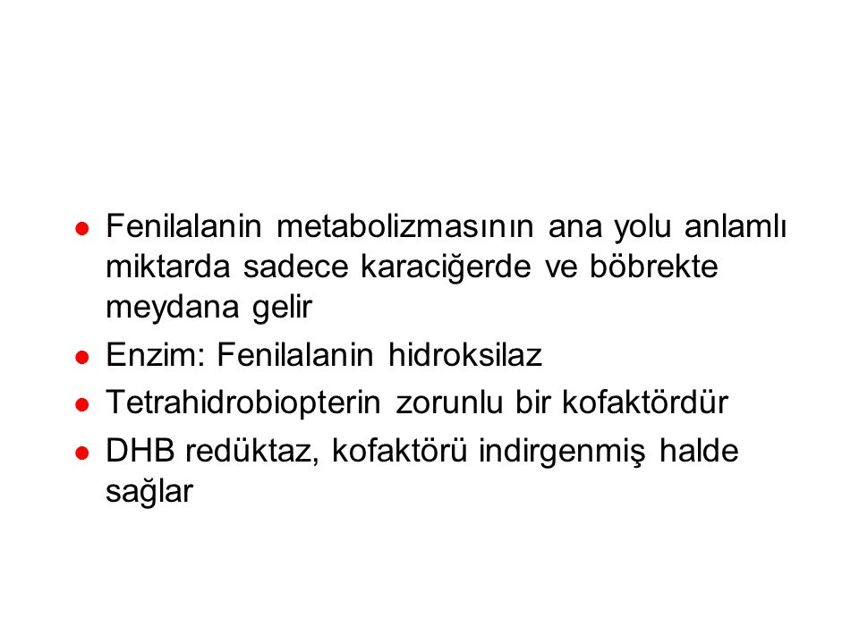 Hiperfenilalaninemiler