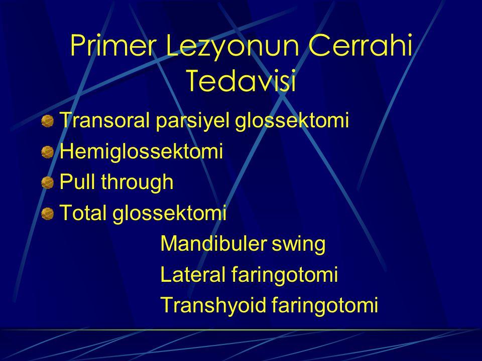Primer Lezyonun Cerrahi Tedavisi