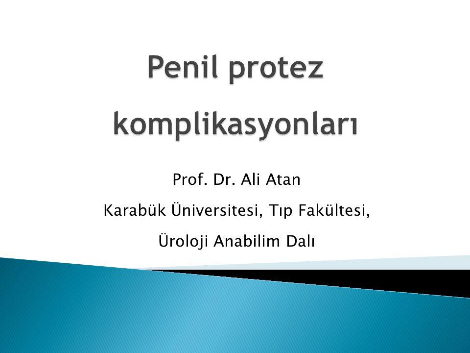 Penil protez komplikasyonları