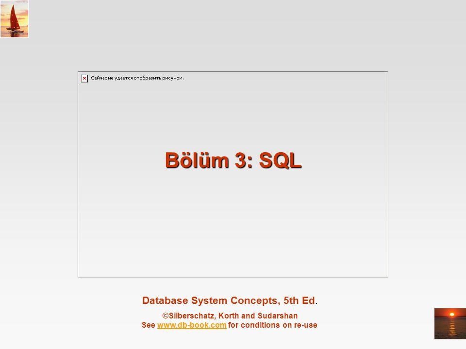 Bölüm 3: SQL