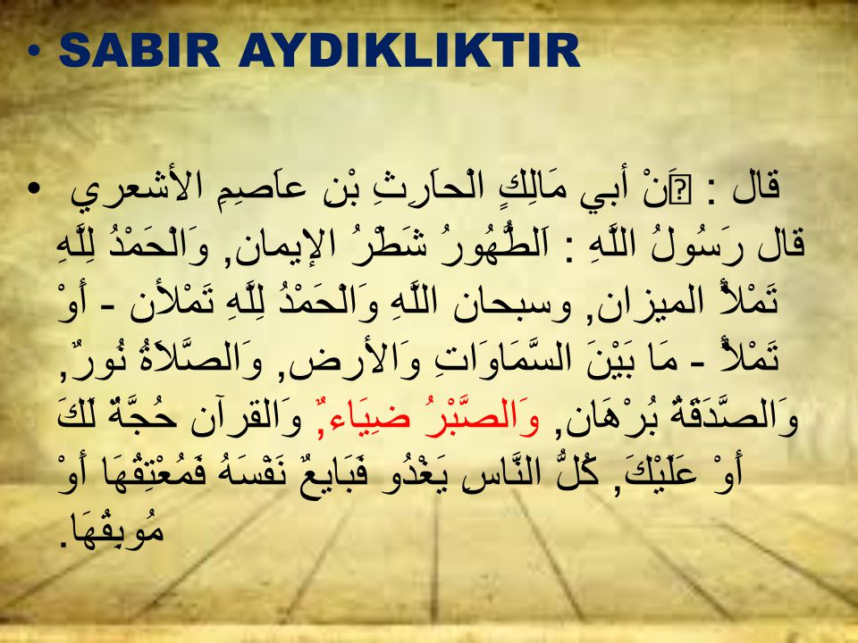 SABIR AYDIKLIKTIR