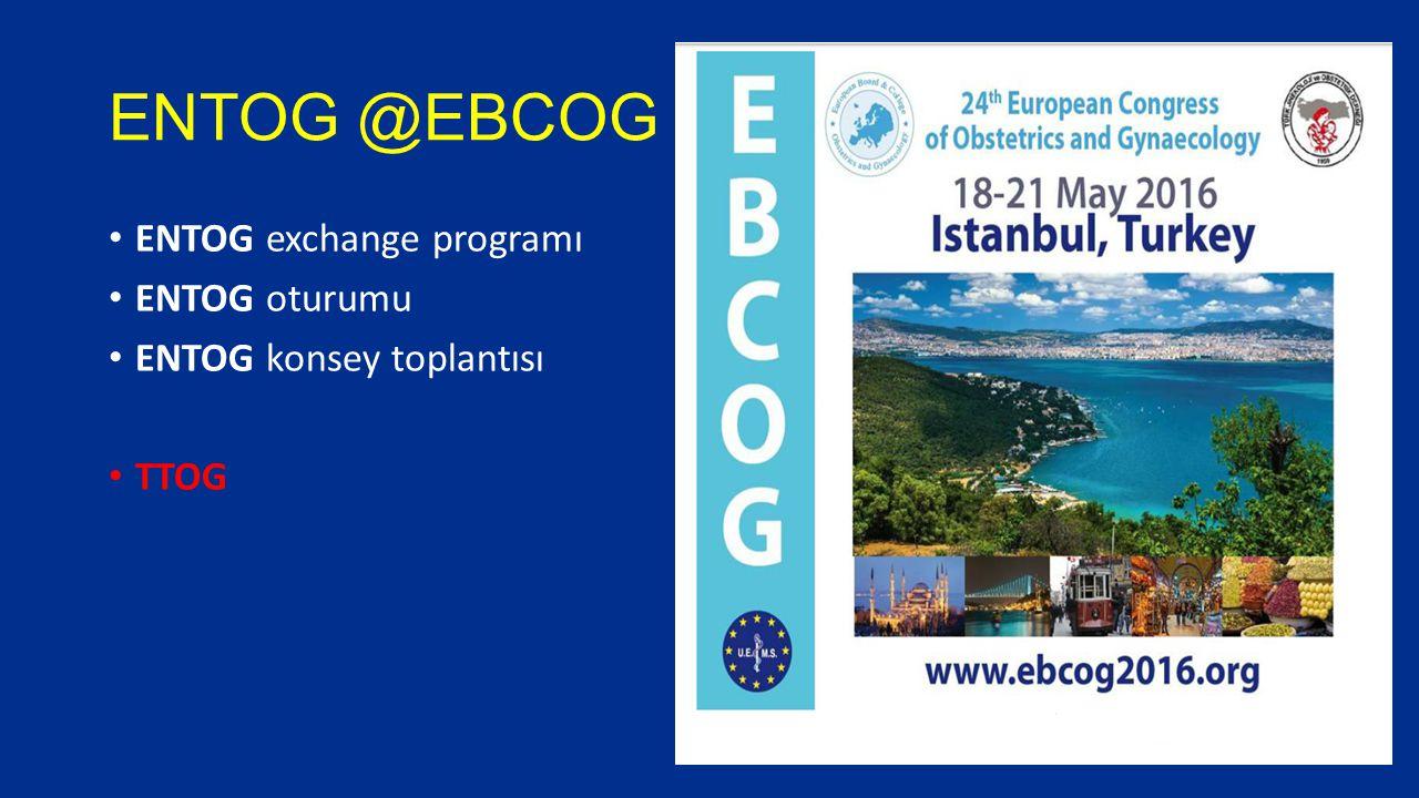ENTOG @EBCOG ENTOG exchange programı ENTOG oturumu