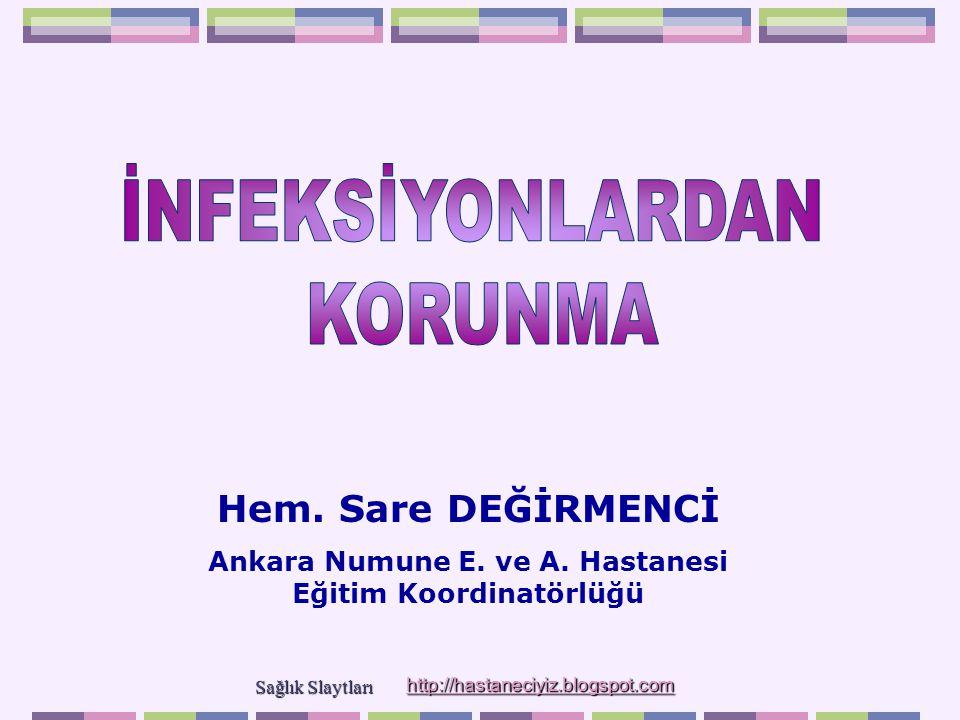 Ankara Numune E. ve A. Hastanesi Eğitim Koordinatörlüğü