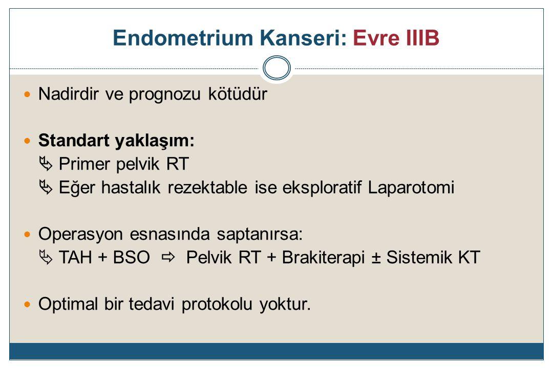 Endometrium Kanseri: Evre IIIB