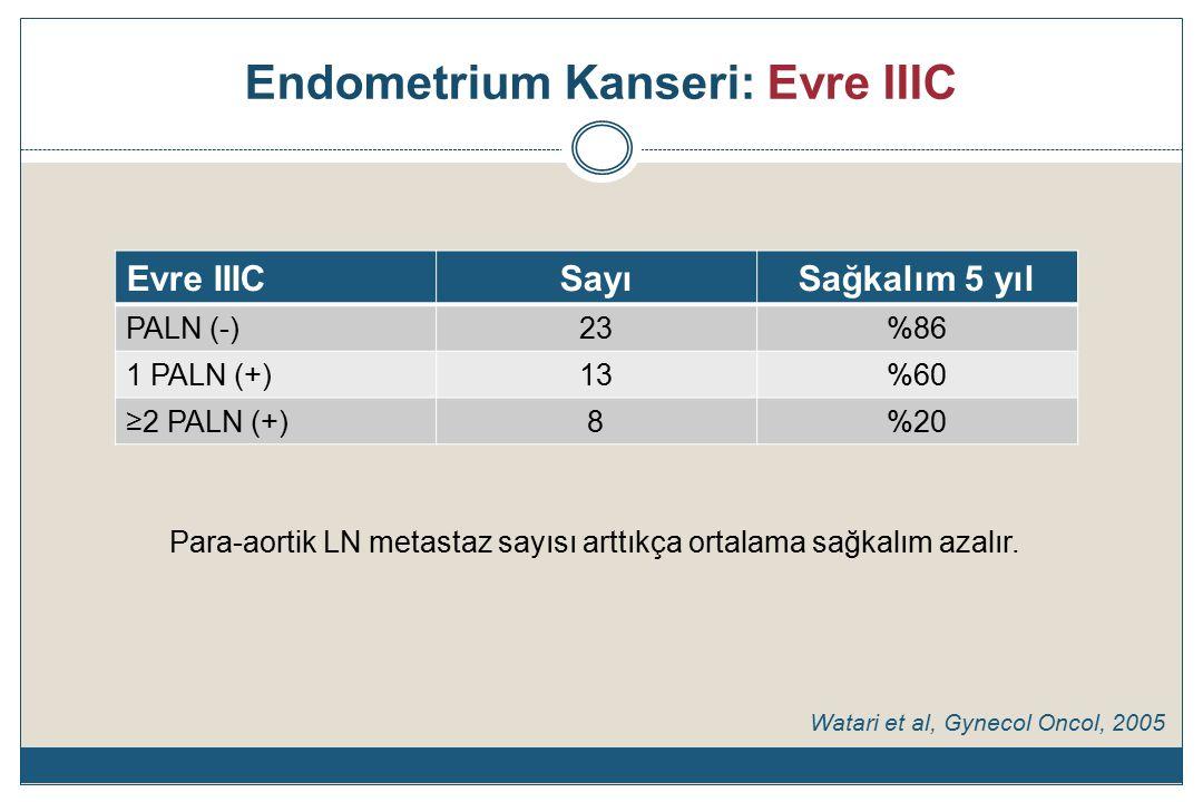 Endometrium Kanseri: Evre IIIC