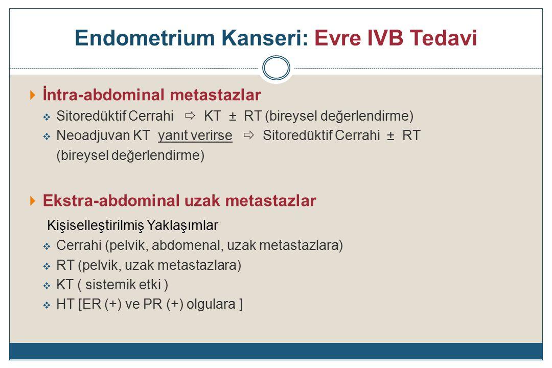 Endometrium Kanseri: Evre IVB Tedavi