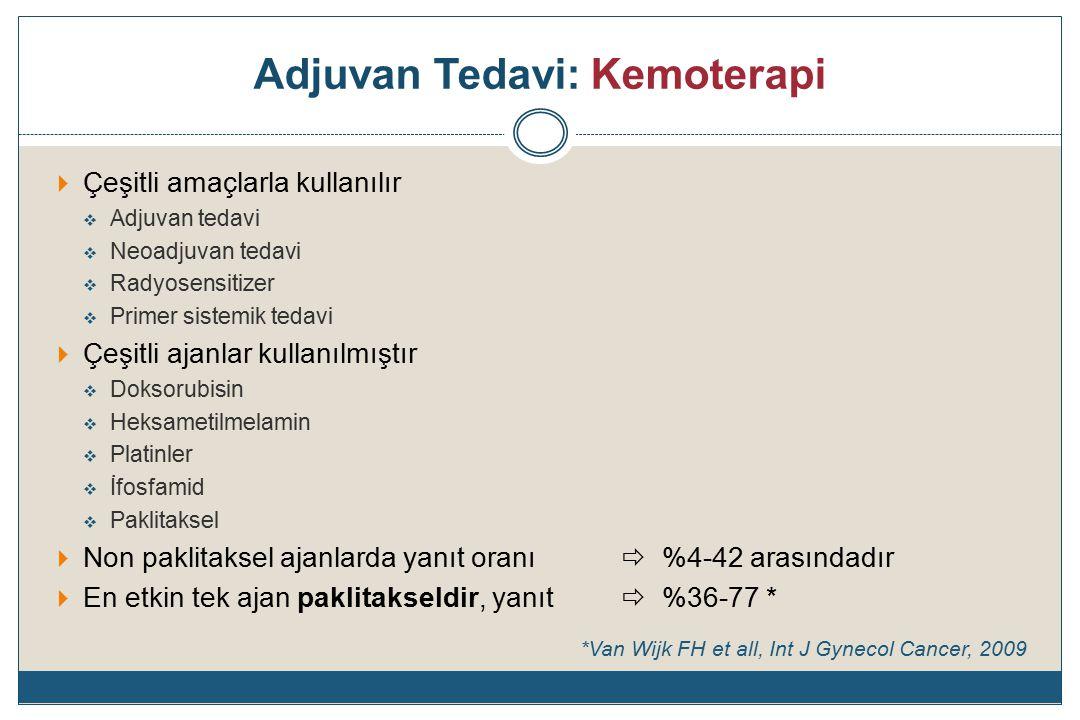 Adjuvan Tedavi: Kemoterapi