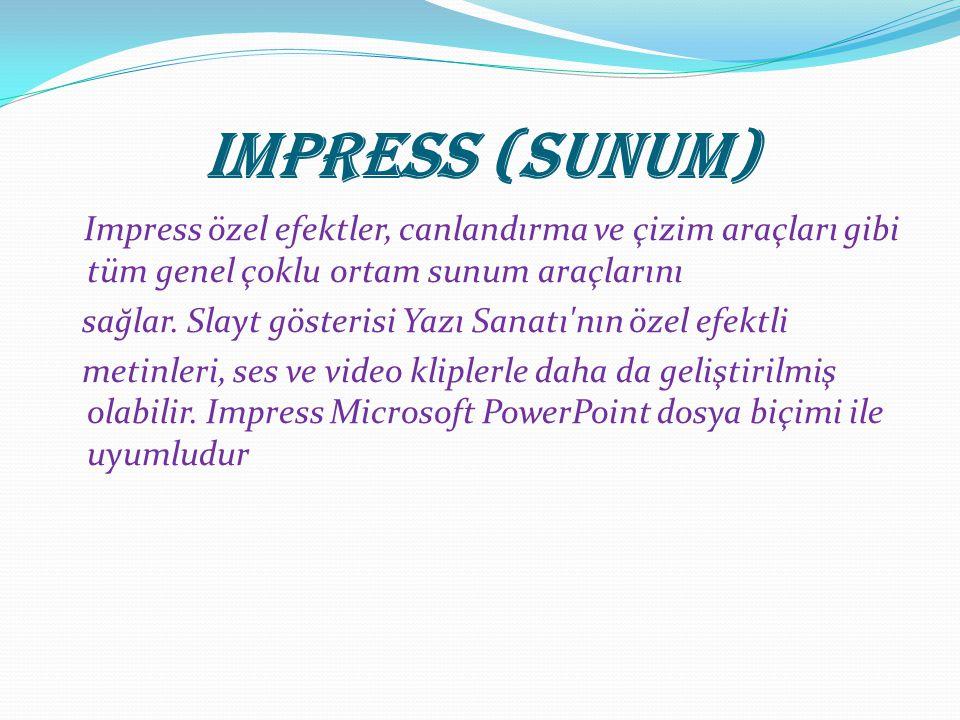 Impress (Sunum)