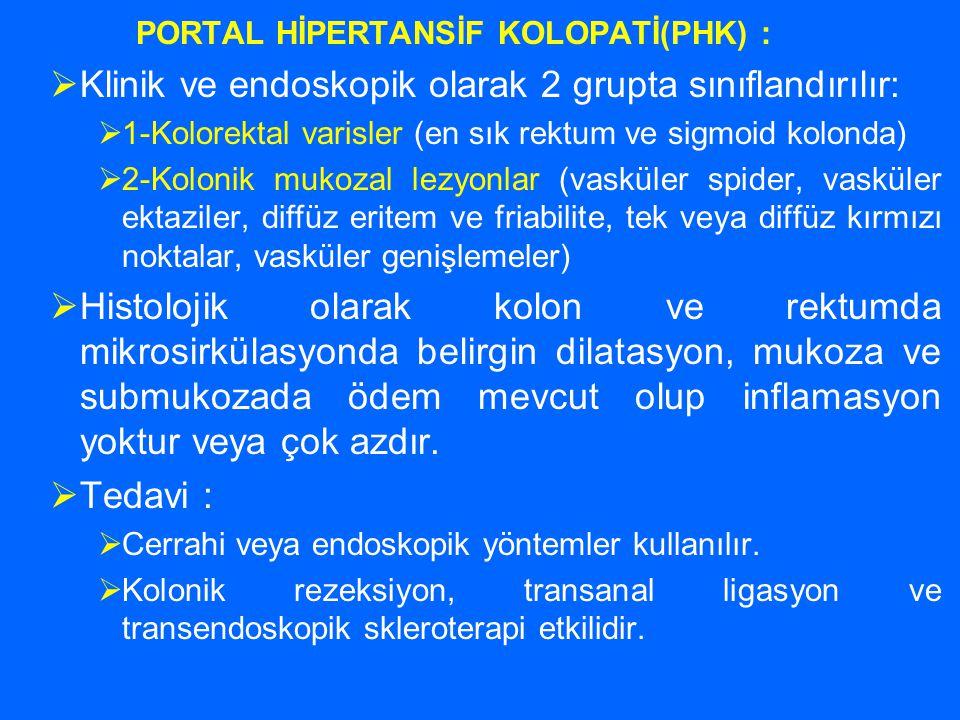 PORTAL HİPERTANSİF KOLOPATİ(PHK) :