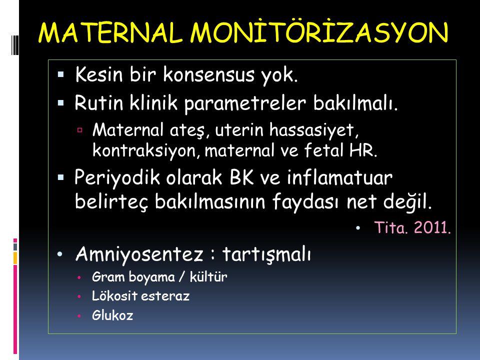 MATERNAL MONİTÖRİZASYON