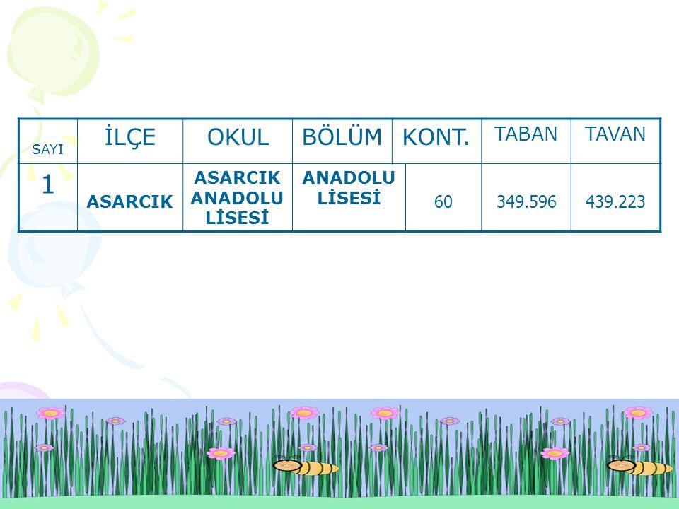 ASARCIK ANADOLU LİSESİ