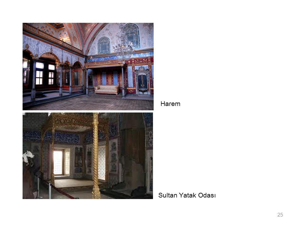 Harem Sultan Yatak Odası