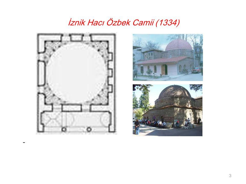 İznik Hacı Özbek Camii (1334)