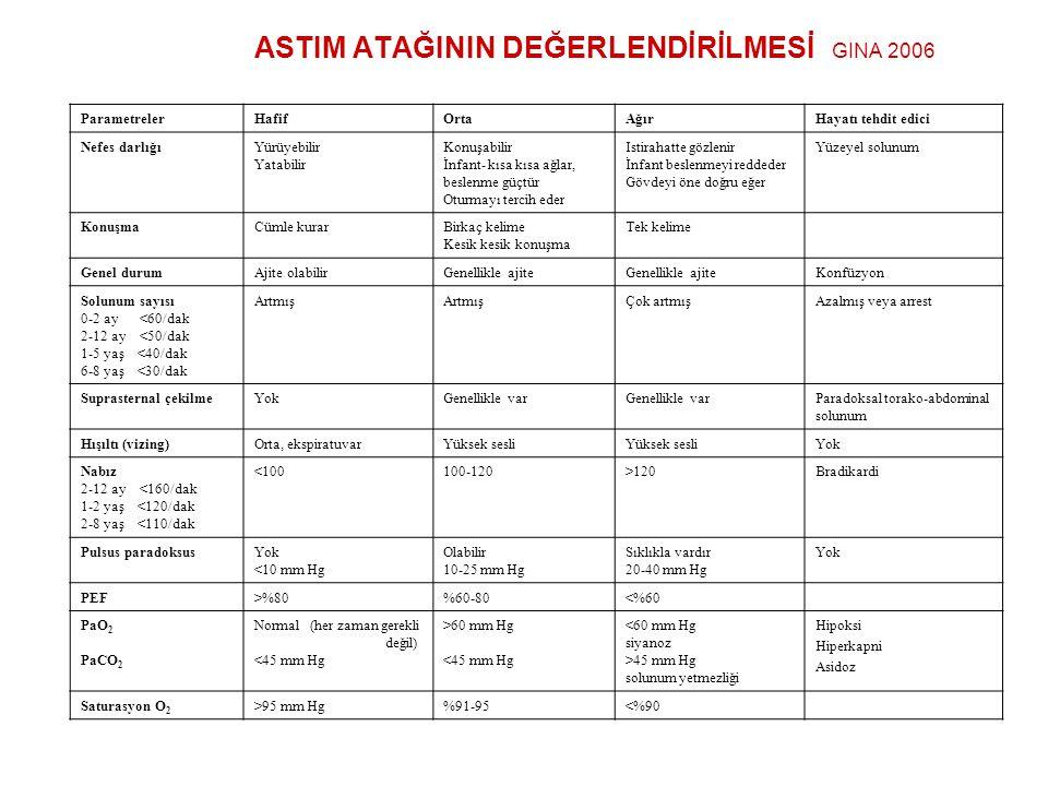 ASTIM ATAĞININ DEĞERLENDİRİLMESİ GINA 2006
