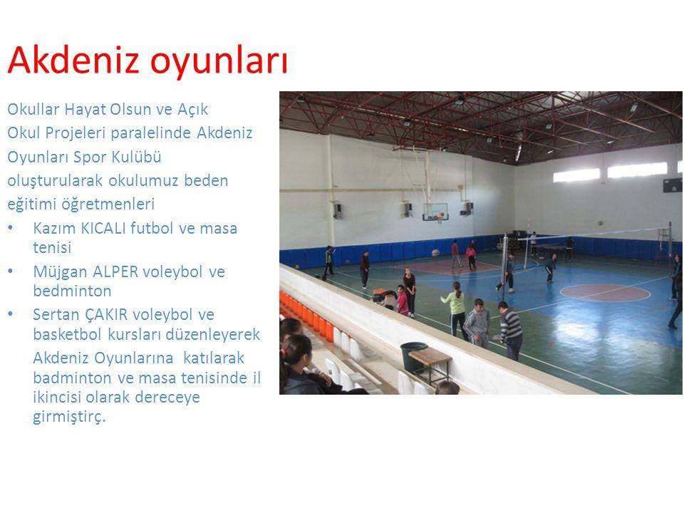 Akdeniz oyunları Okullar Hayat Olsun ve Açık