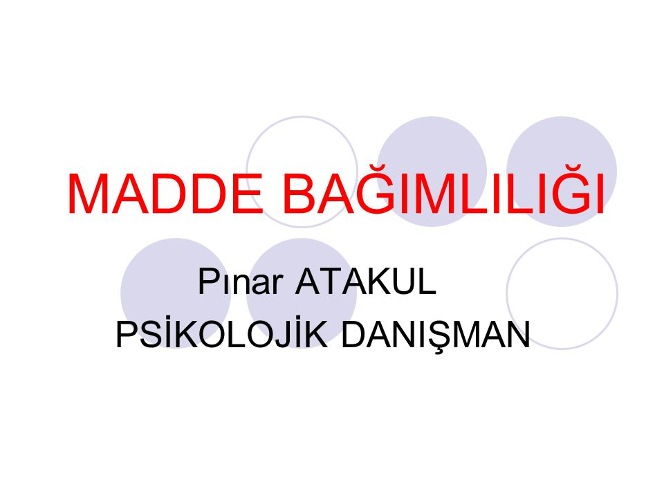 Pınar ATAKUL PSİKOLOJİK DANIŞMAN