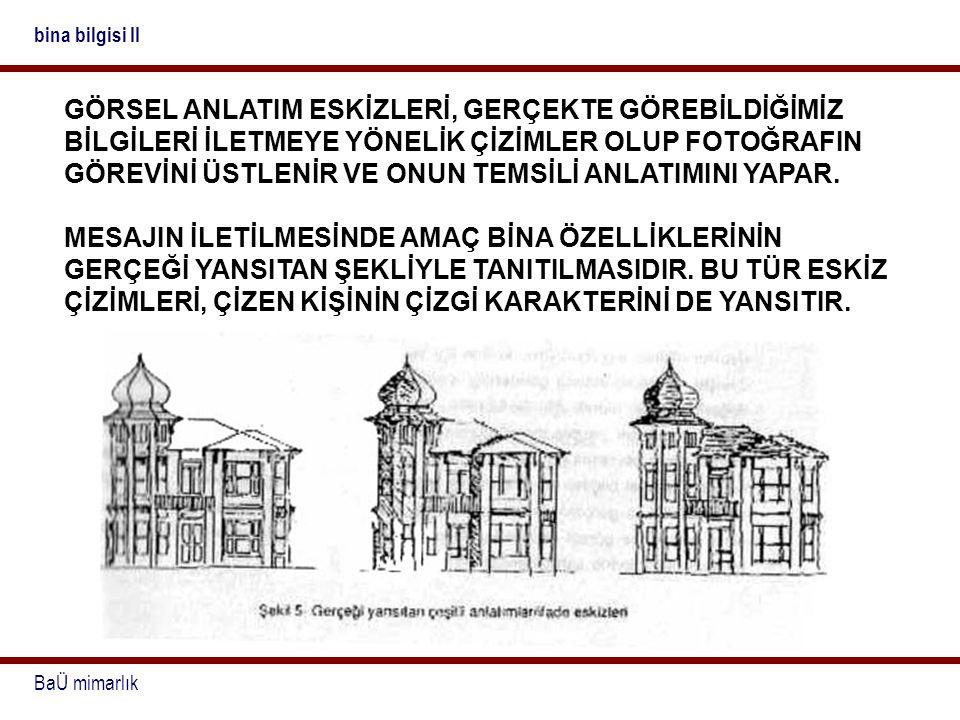 bina bilgisi II