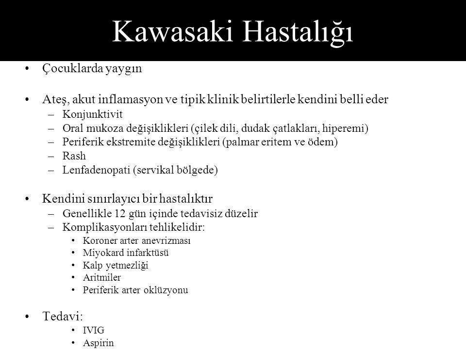 Kawasaki Hastalığı Çocuklarda yaygın