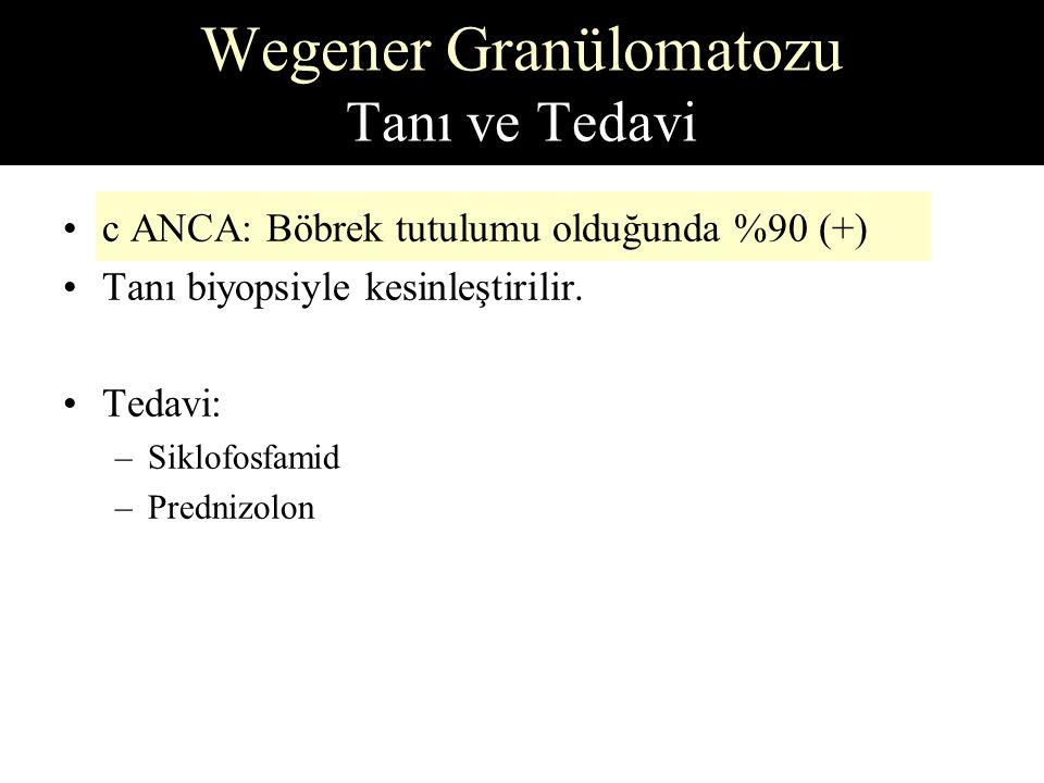 Wegener Granülomatozu Tanı ve Tedavi