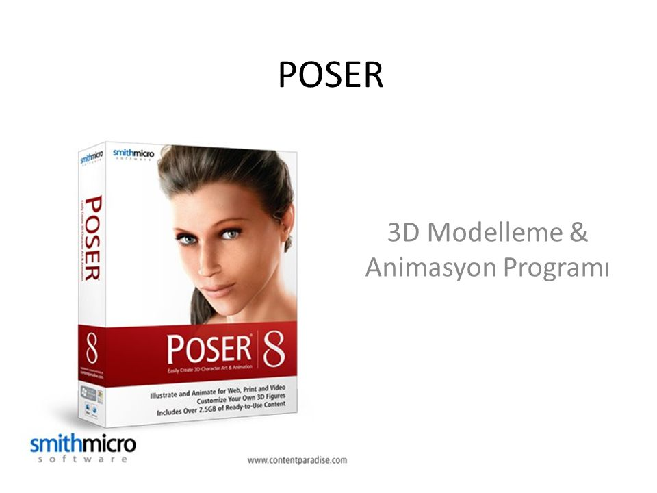 3D Modelleme & Animasyon Programı