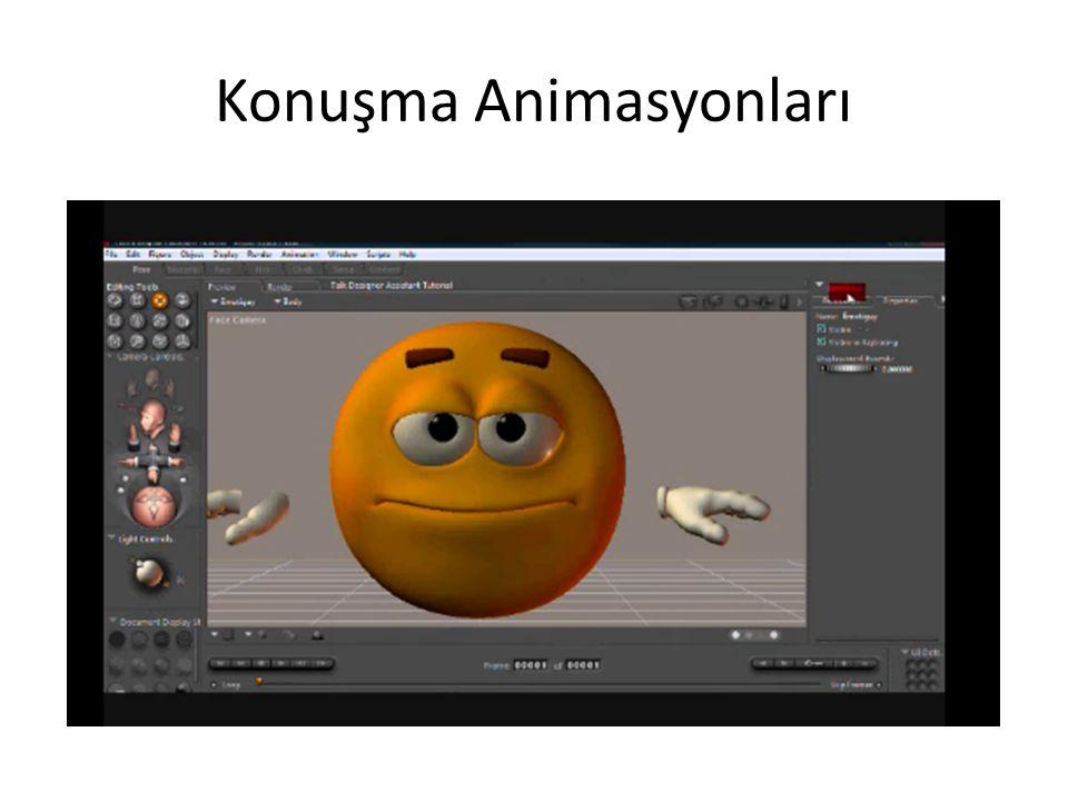 Konuşma Animasyonları