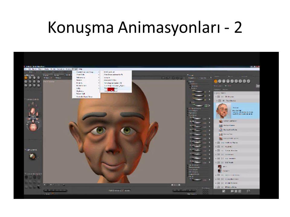 Konuşma Animasyonları - 2