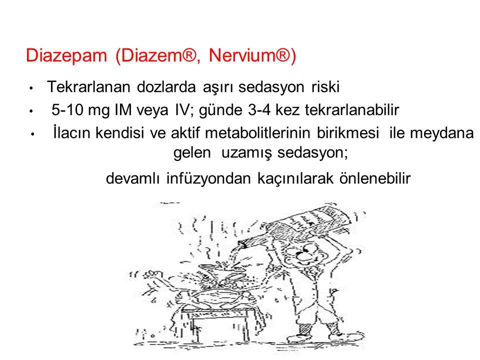 Diazepam (Diazem®, Nervium®)