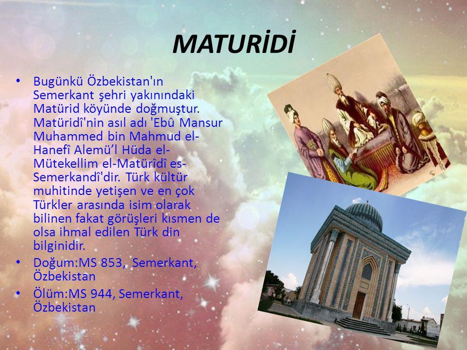 MATURİDİ