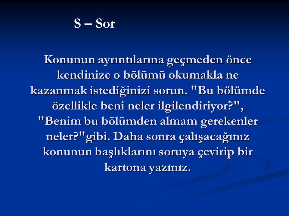 S – Sor