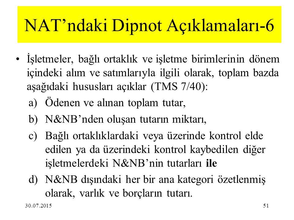 NAT'ndaki Dipnot Açıklamaları-6