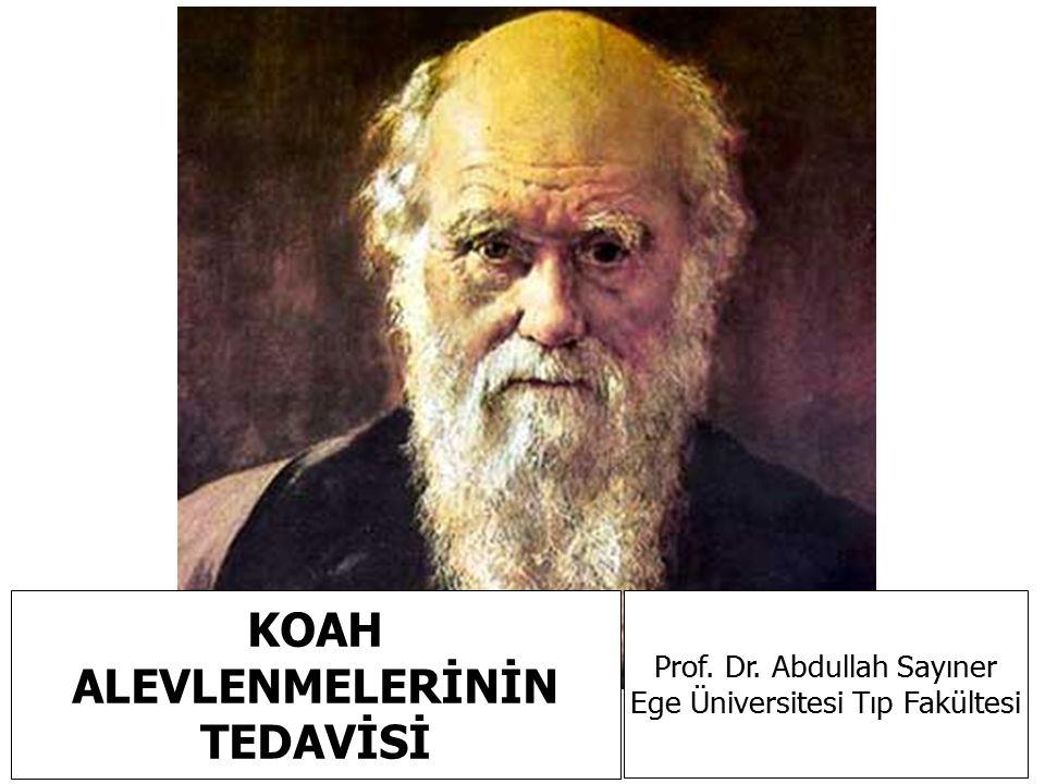 KOAH ALEVLENMELERİNİN TEDAVİSİ