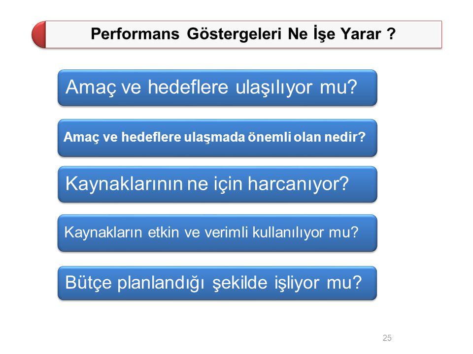 Performans Göstergeleri Ne İşe Yarar