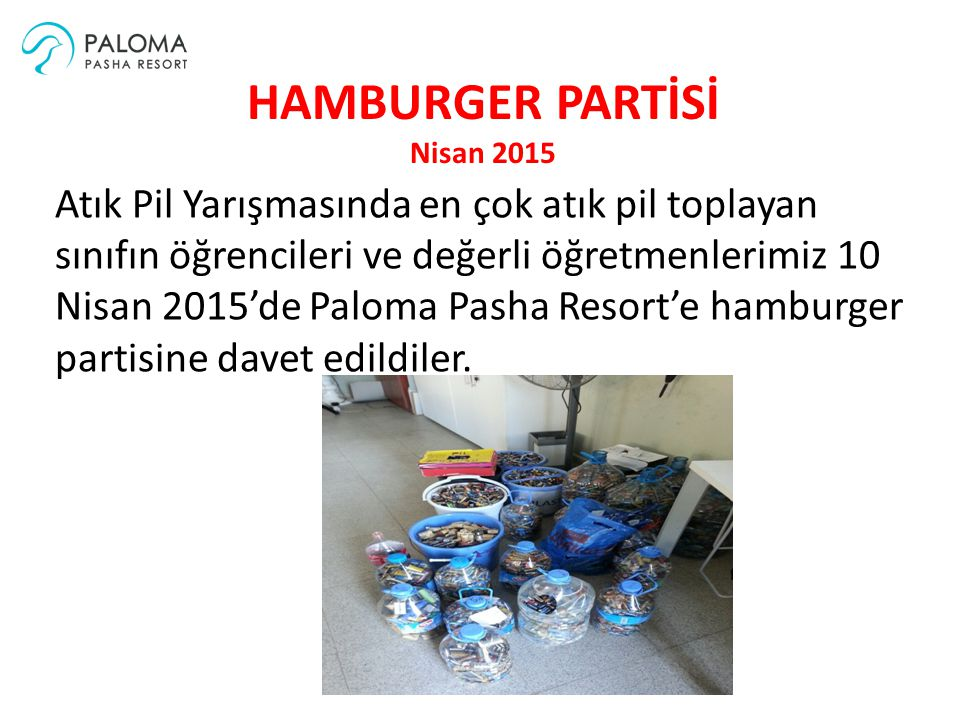 HAMBURGER PARTİSİ Nisan 2015