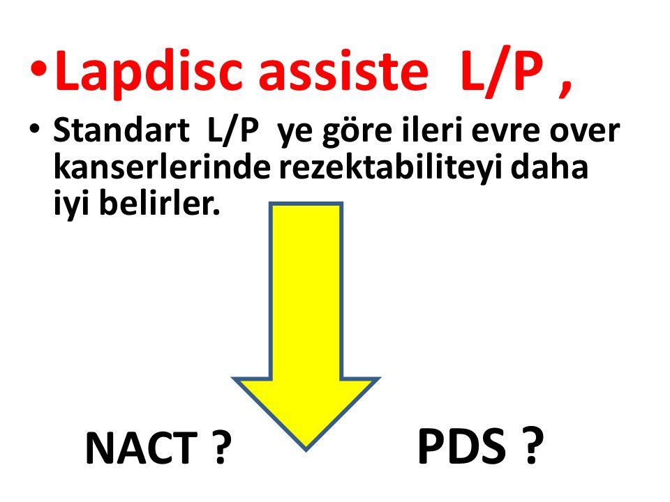 Lapdisc assiste L/P , NACT PDS