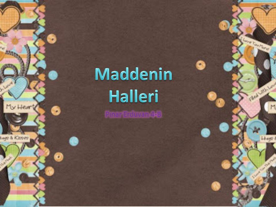 Maddenin Halleri Pınar Erduvan 4-B