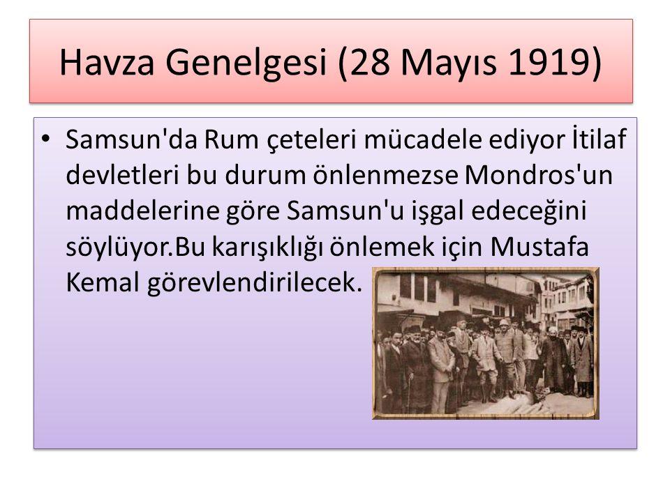 Havza Genelgesi (28 Mayıs 1919)