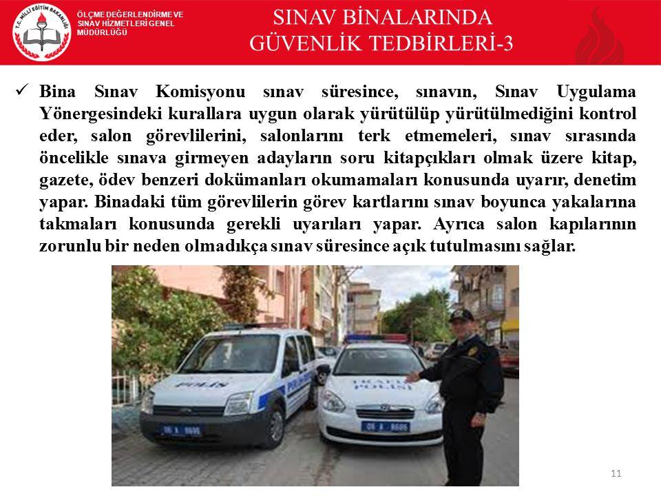 SINAV BİNALARINDA GÜVENLİK TEDBİRLERİ-3