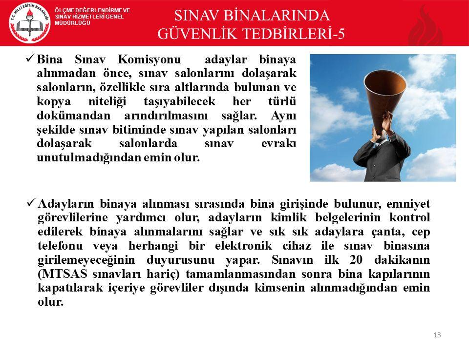 SINAV BİNALARINDA GÜVENLİK TEDBİRLERİ-5
