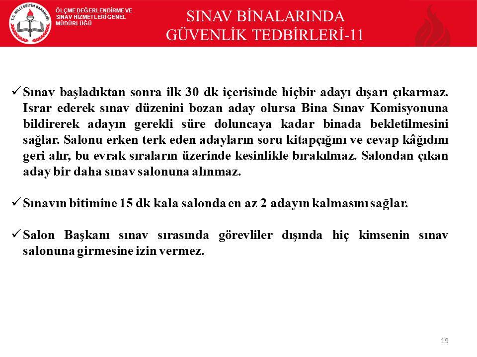 SINAV BİNALARINDA GÜVENLİK TEDBİRLERİ-11