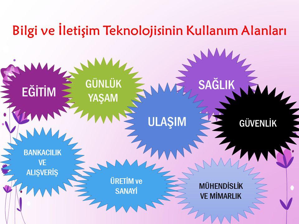 Bilgi ve İletişim Teknolojisinin Kullanım Alanları