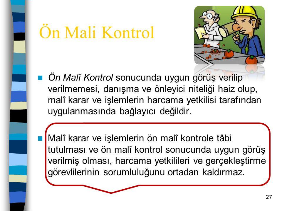 Ön Mali Kontrol