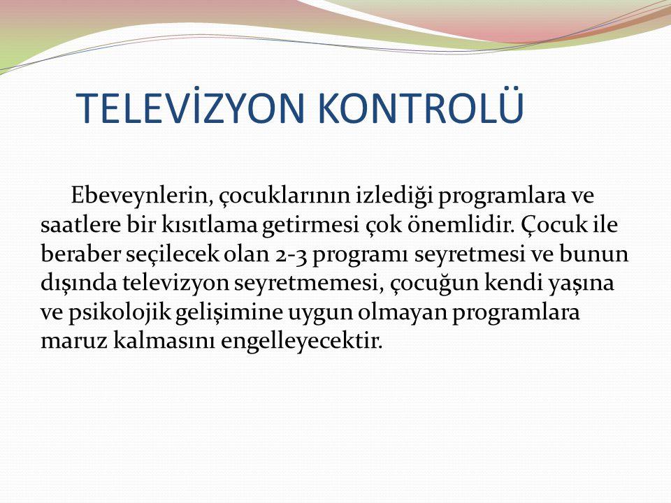 TELEVİZYON KONTROLÜ