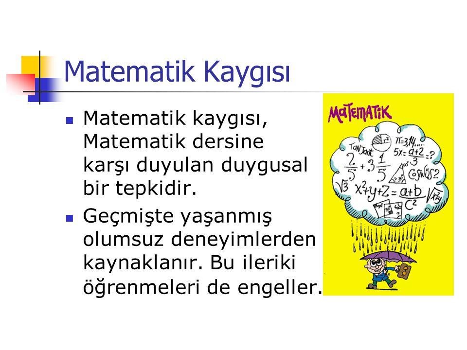 Matematik Kaygısı