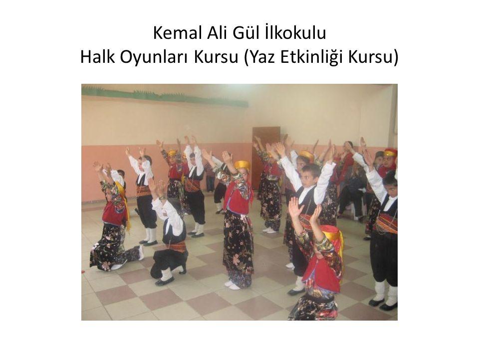 Kemal Ali Gül İlkokulu Halk Oyunları Kursu (Yaz Etkinliği Kursu)