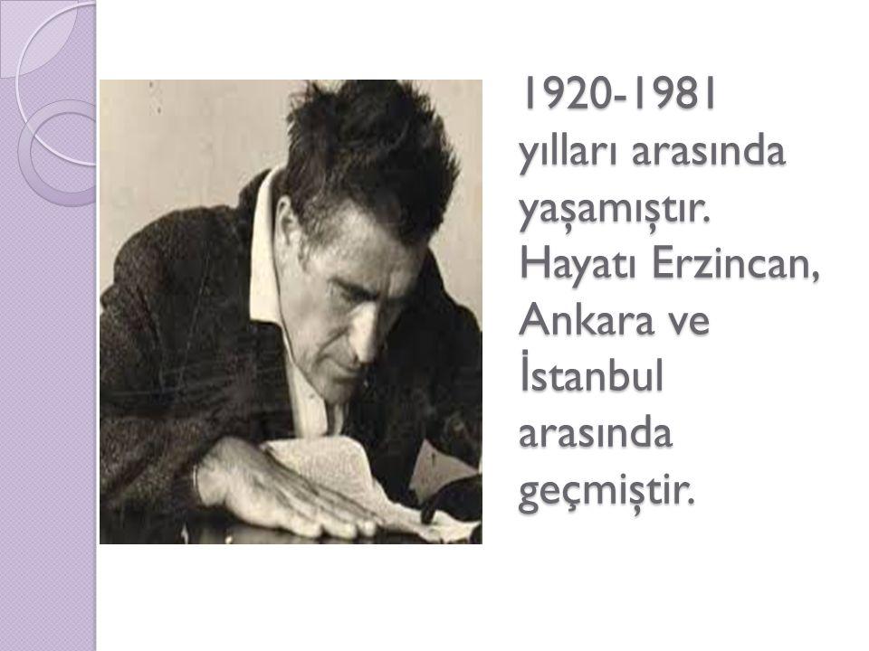 1920-1981 yılları arasında yaşamıştır