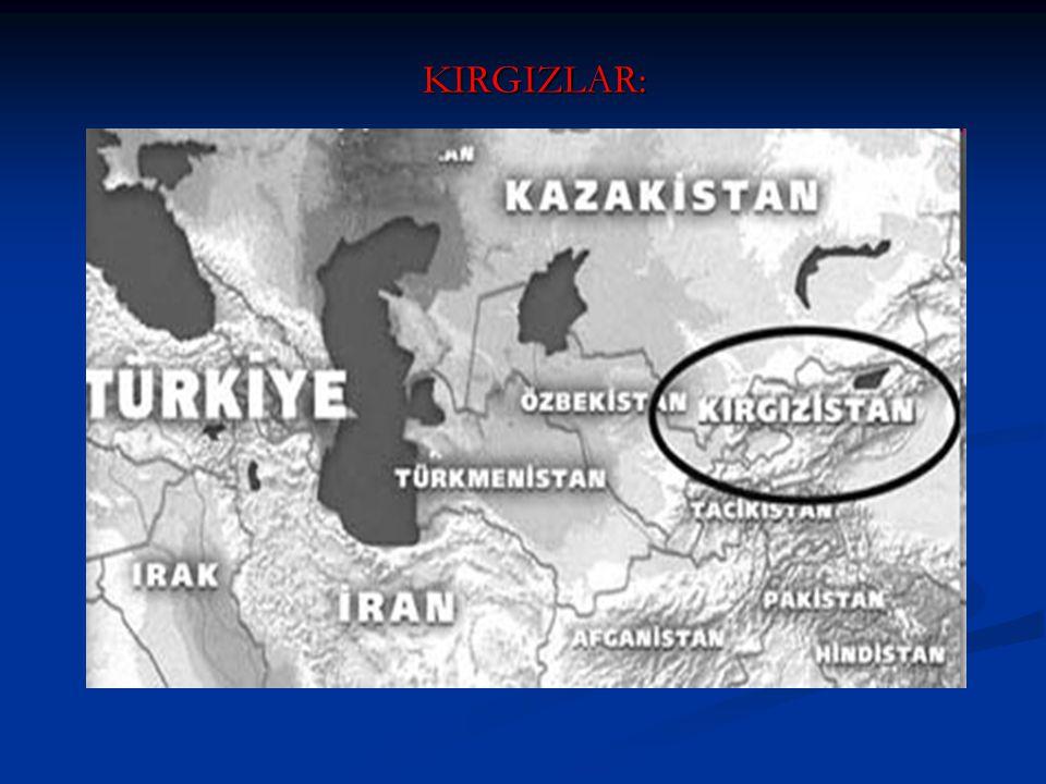 KIRGIZLAR: