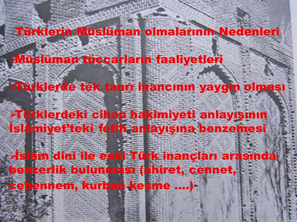 Türklerin Müslüman olmalarının Nedenleri