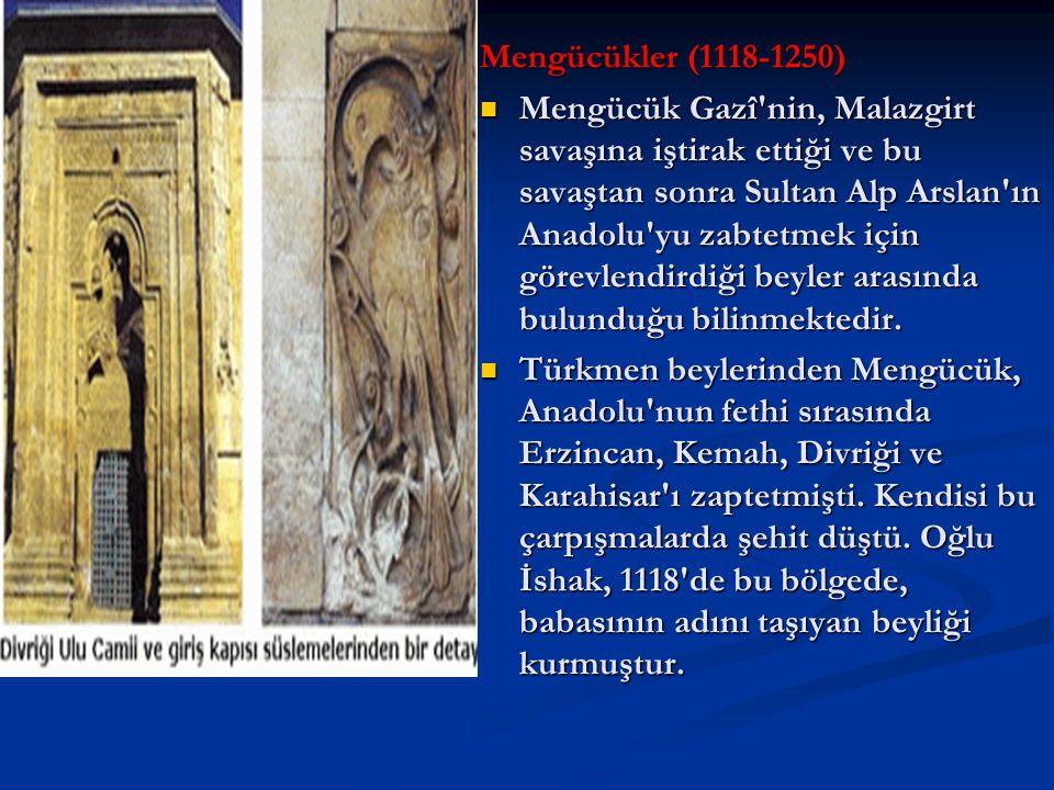 Mengücükler (1118-1250)