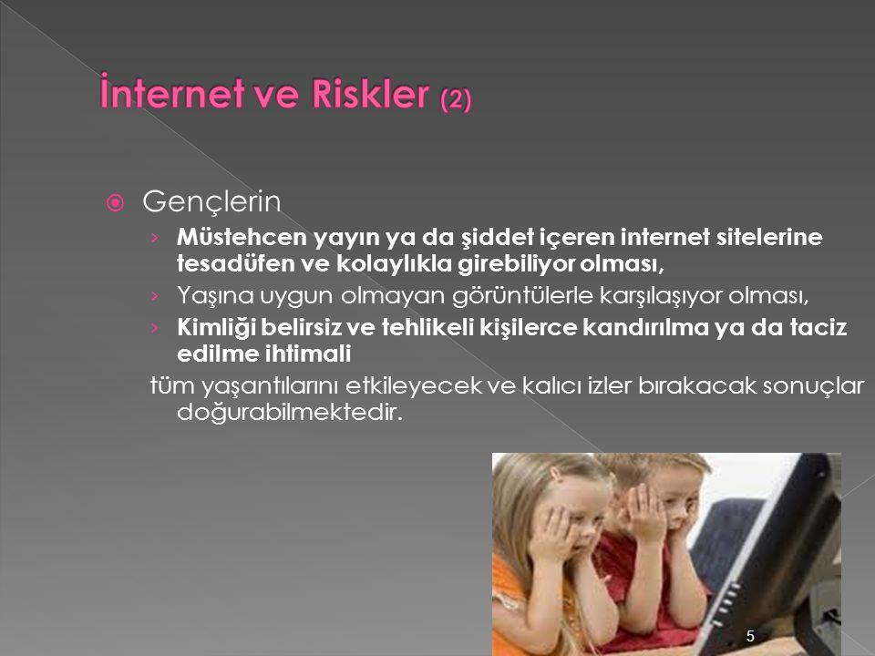 İnternet ve Riskler (2) Gençlerin